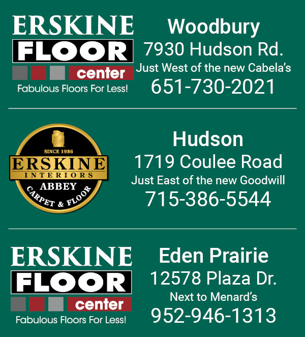 Stop by one of our three convinient locations in Woodbury, Hudson, & Eden Prairie