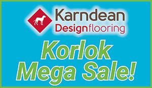 Karndean Design Flooring Korlok Mega Sale going on now at Erskine Interiors!