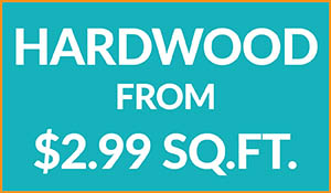 Hardwood flooring from $2.99 sq.ft.